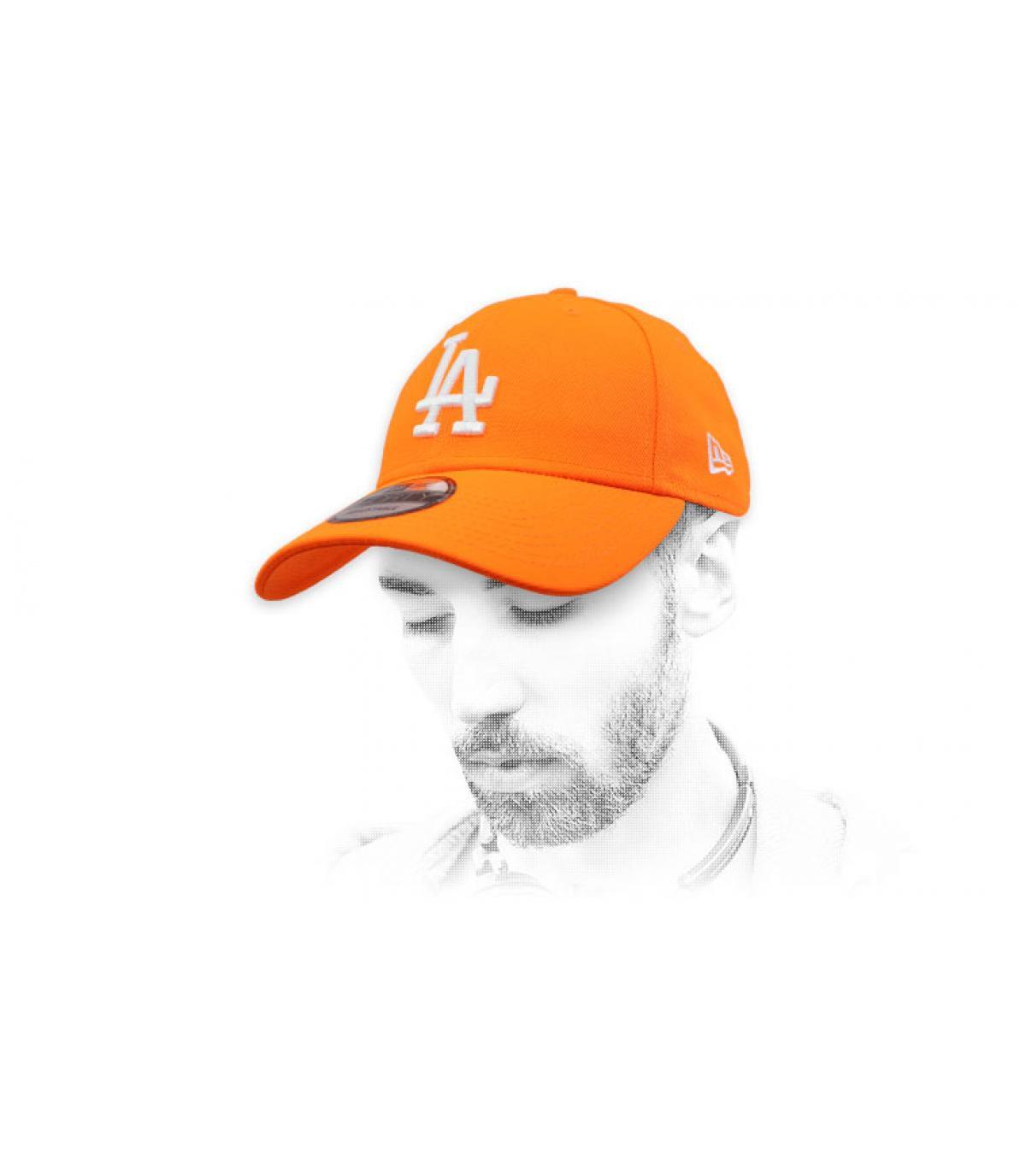 LA orange cap