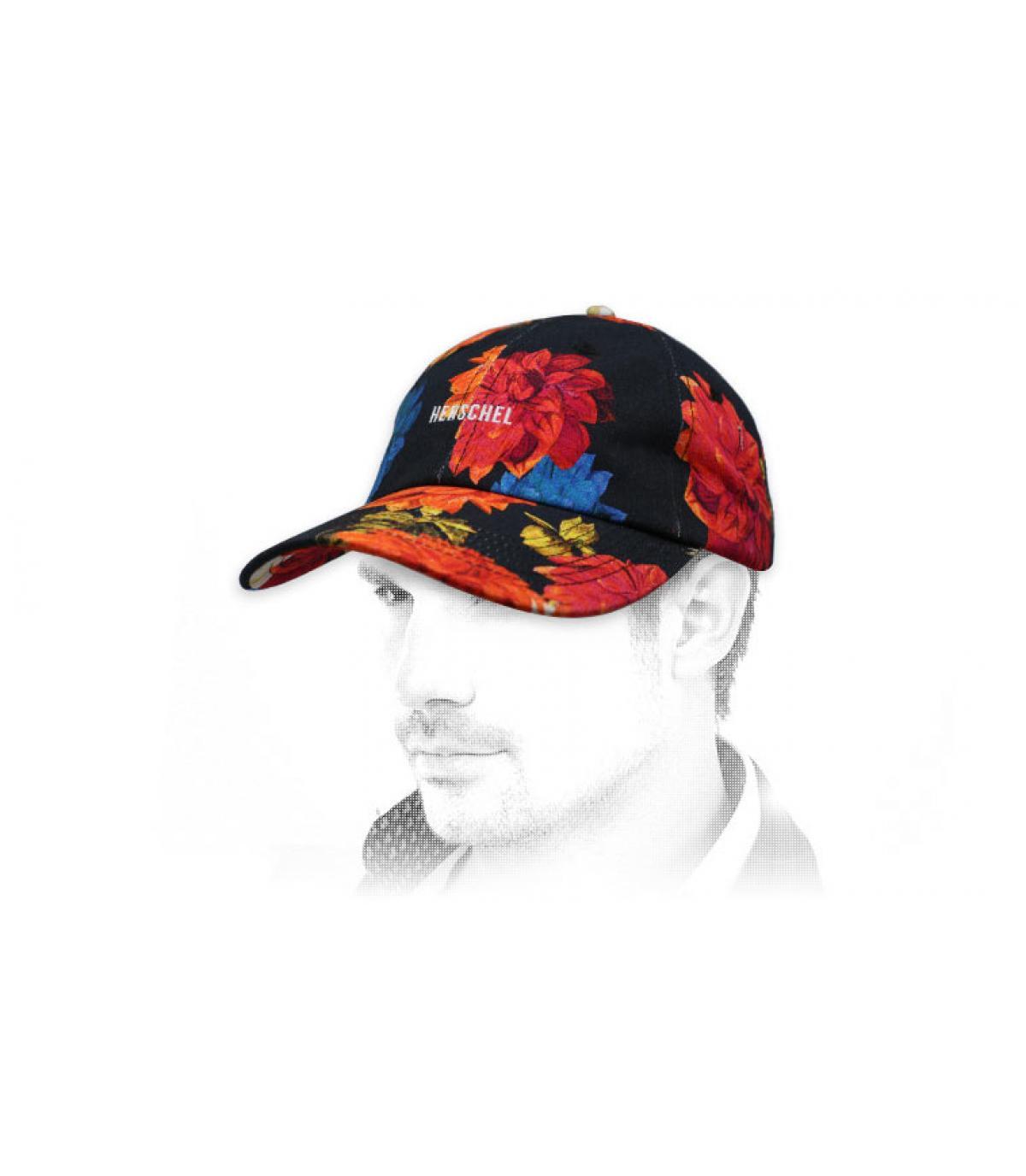 Herschel flower cap