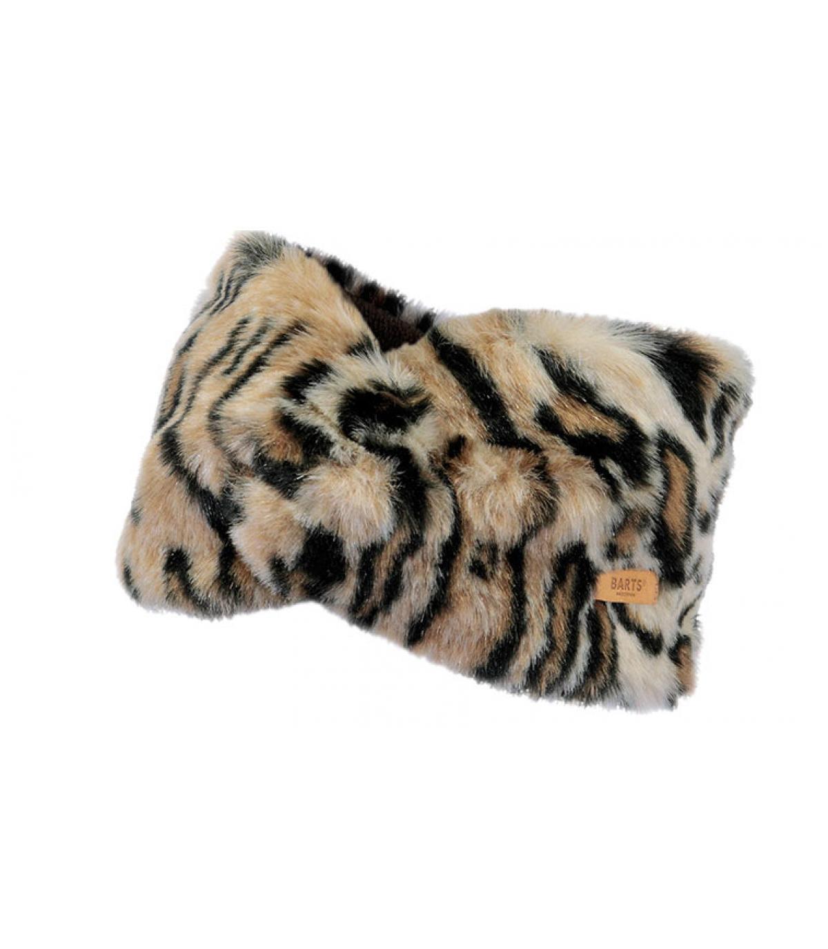 Barts leopard headband