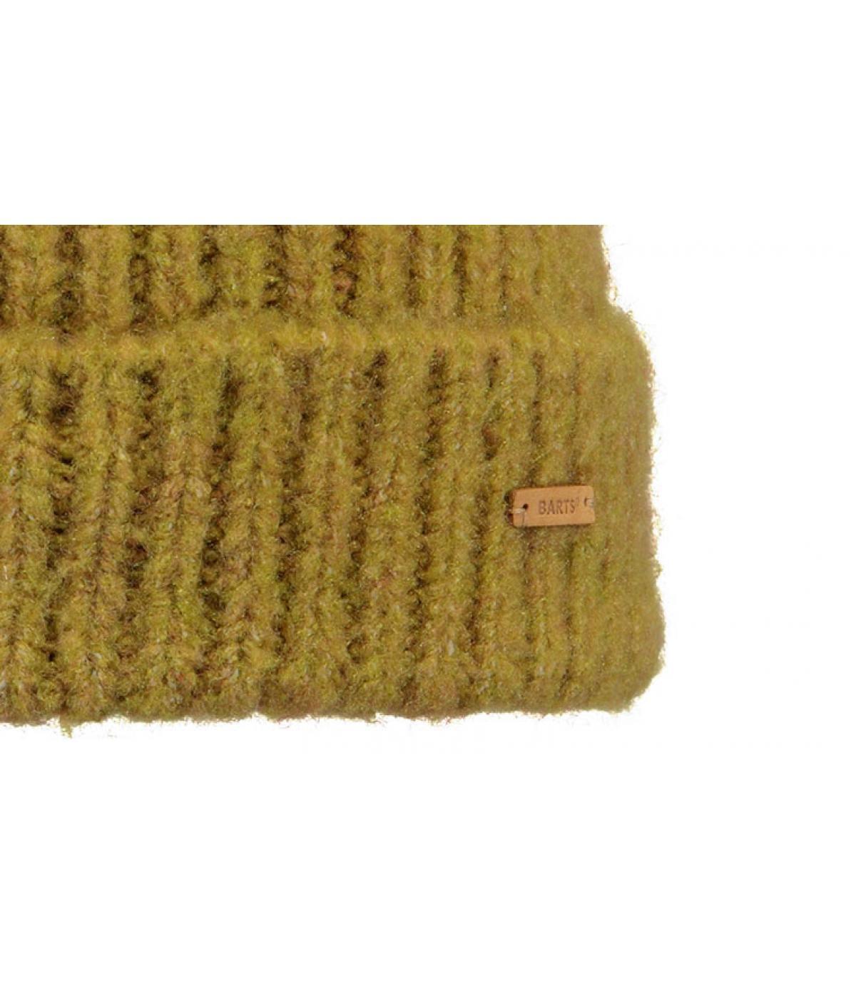 Détails Adena Beanie mustard - image 3