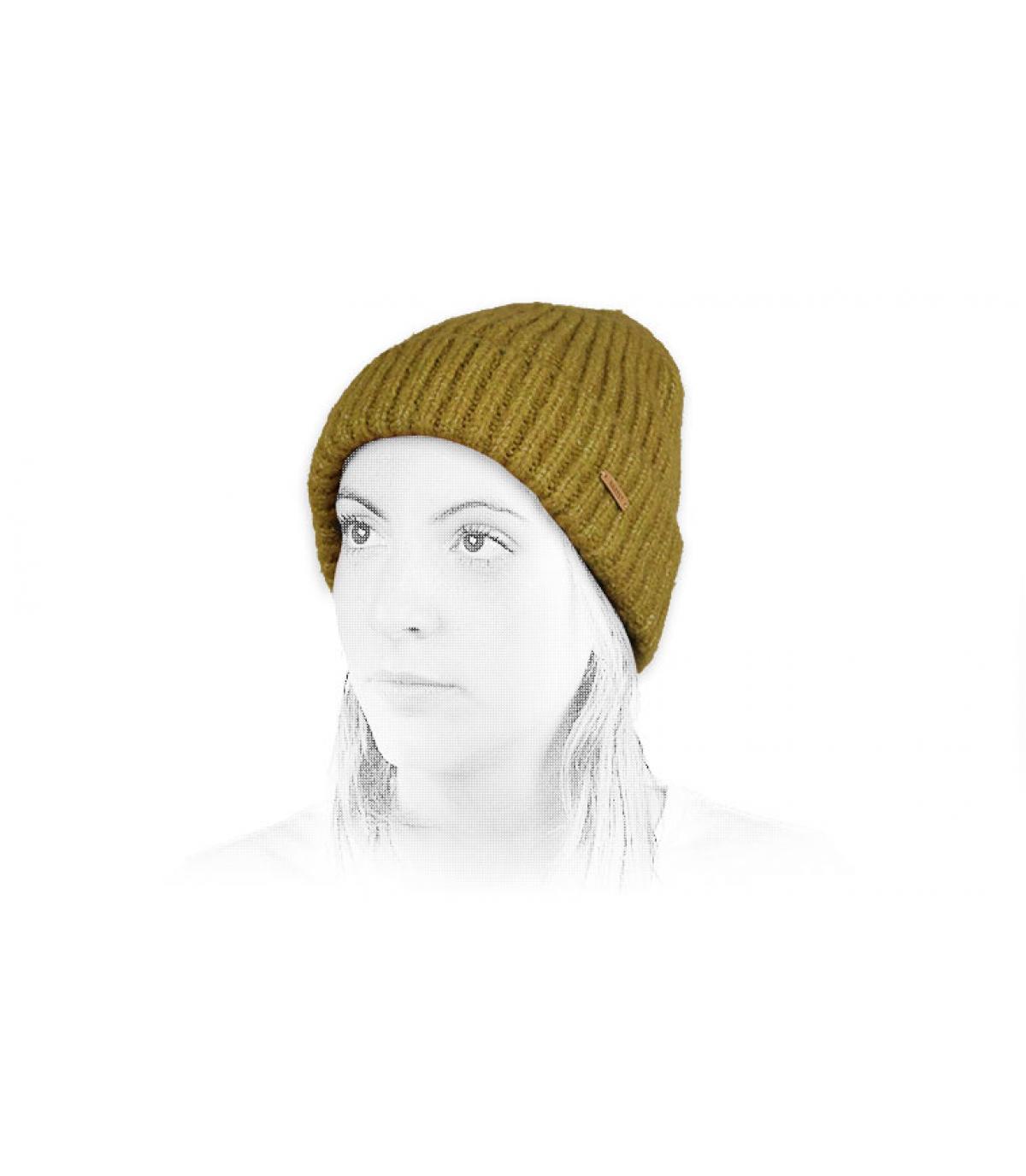 Détails Adena Beanie mustard - image 4