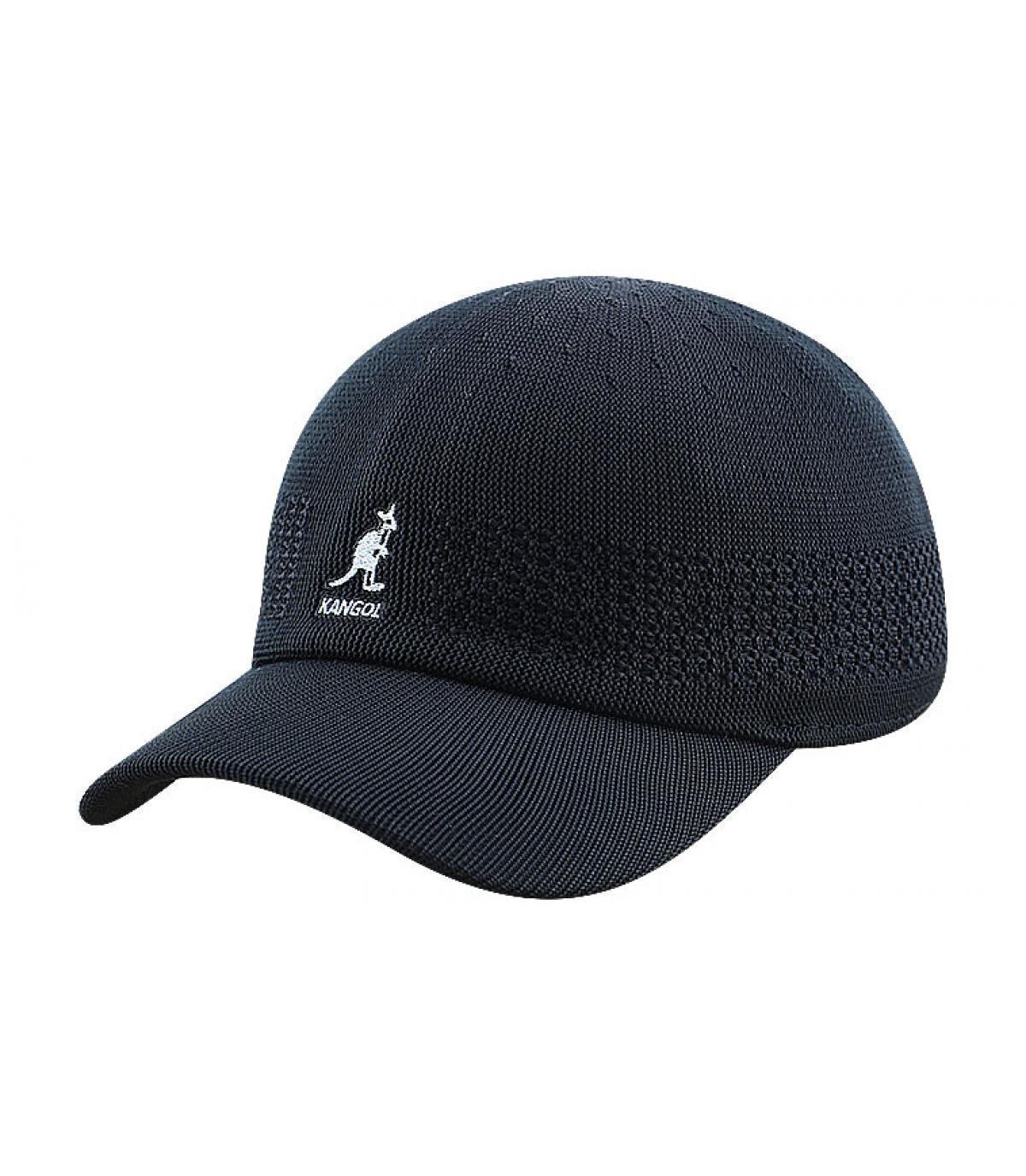 Kangol black trucker cap