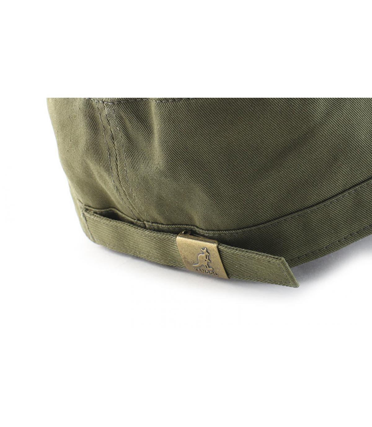 Détails Cotton twill army cap beige - image 5