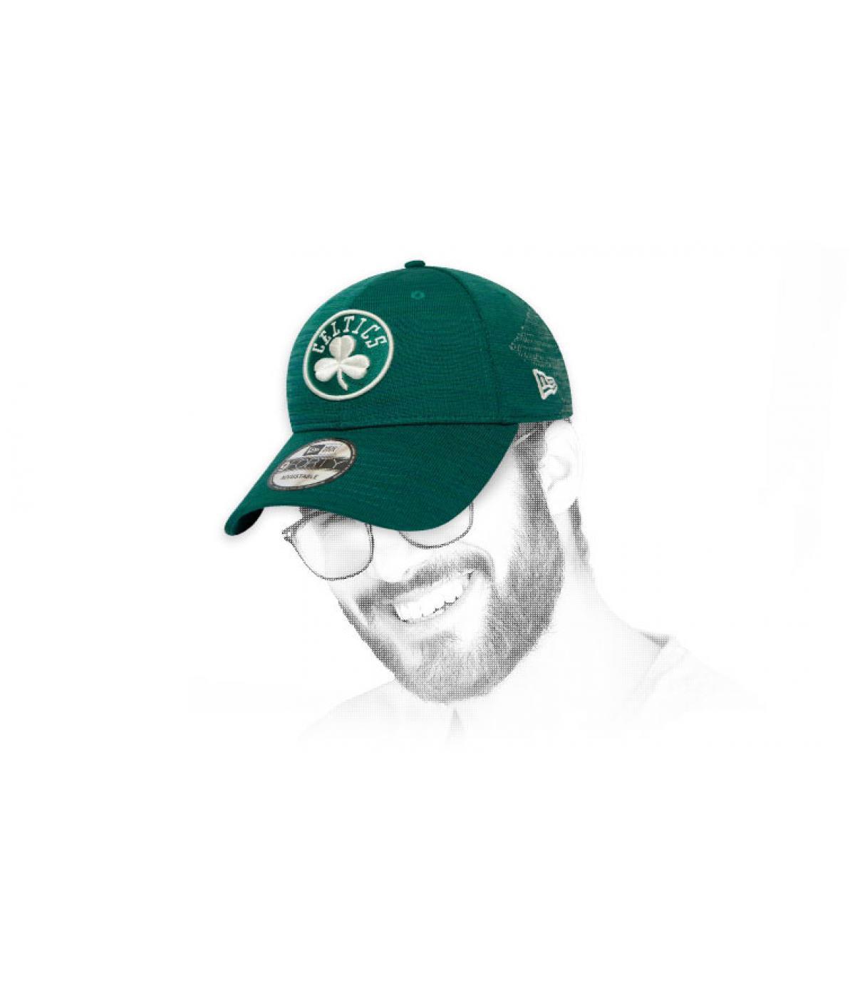 green Celtics cap