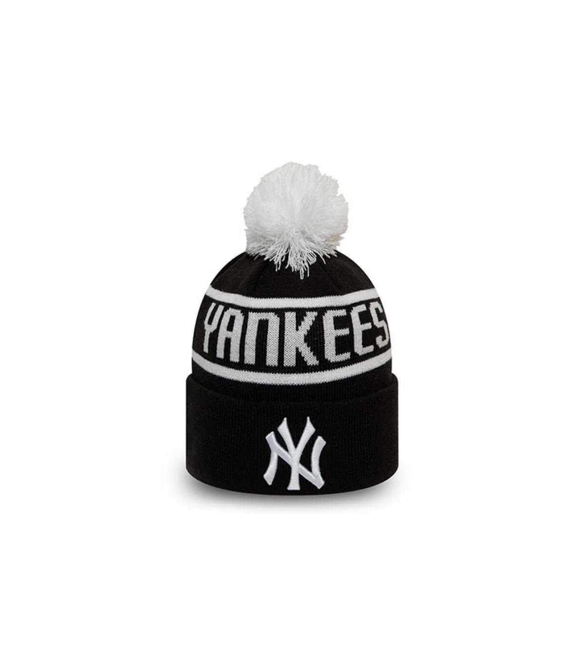 black kids Yankees beanie