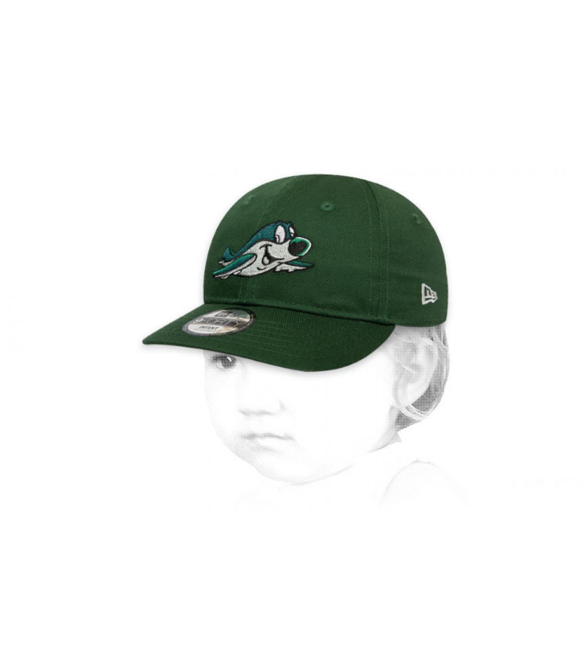 green kids Jets cap