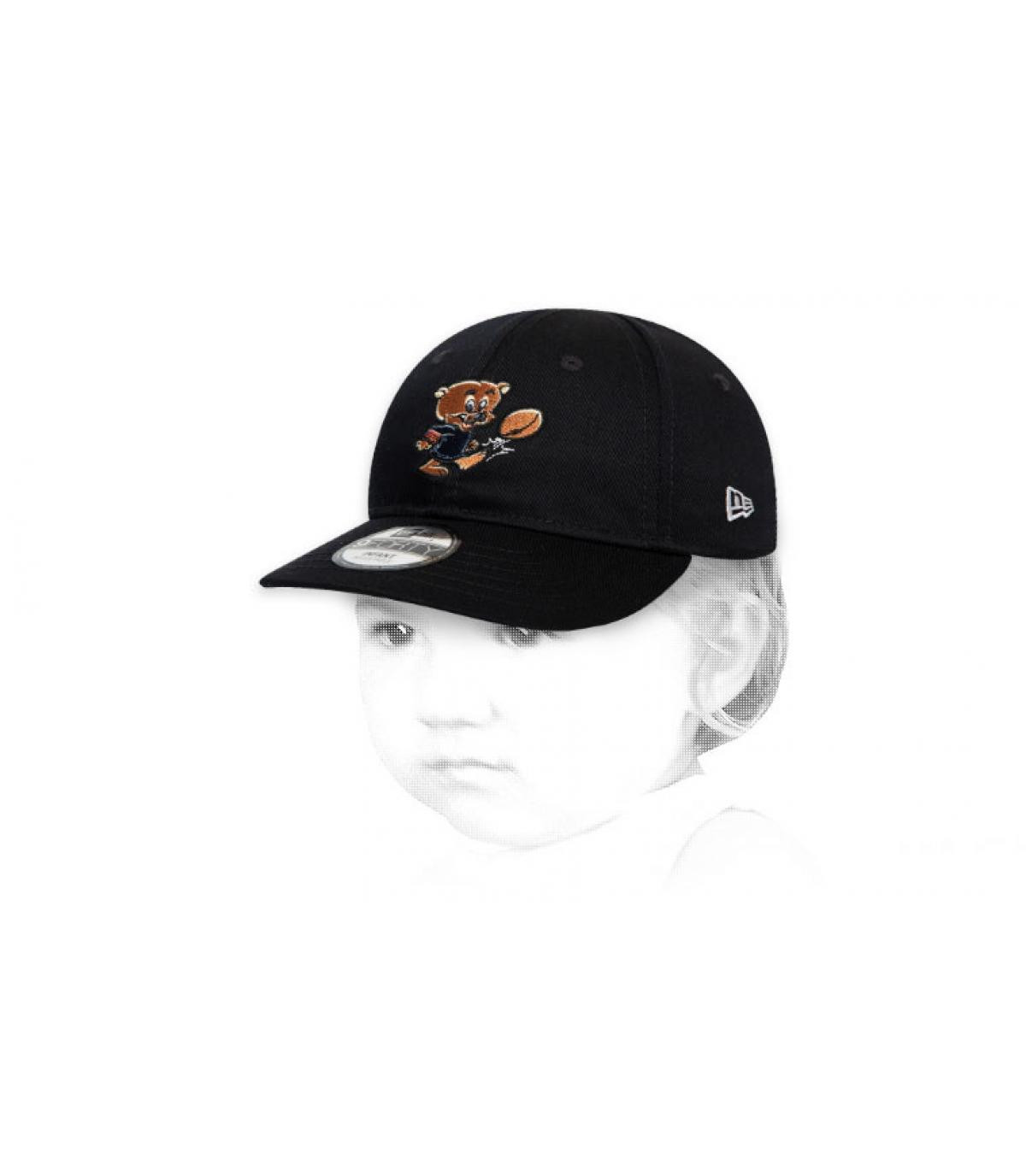 black Bears child cap