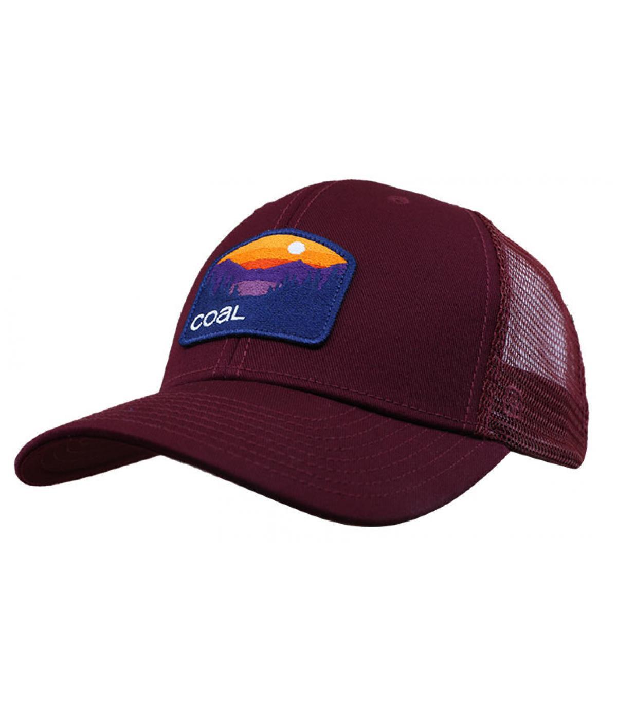 burgundy trucker cap Coal