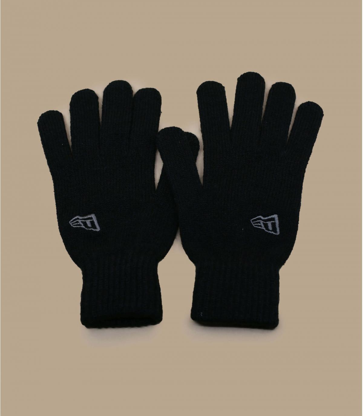 black New Era gloves
