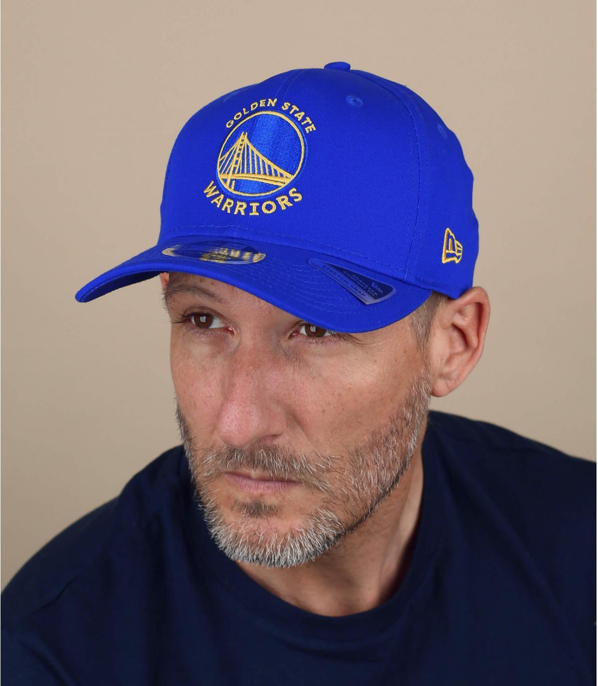 blue Warriors cap