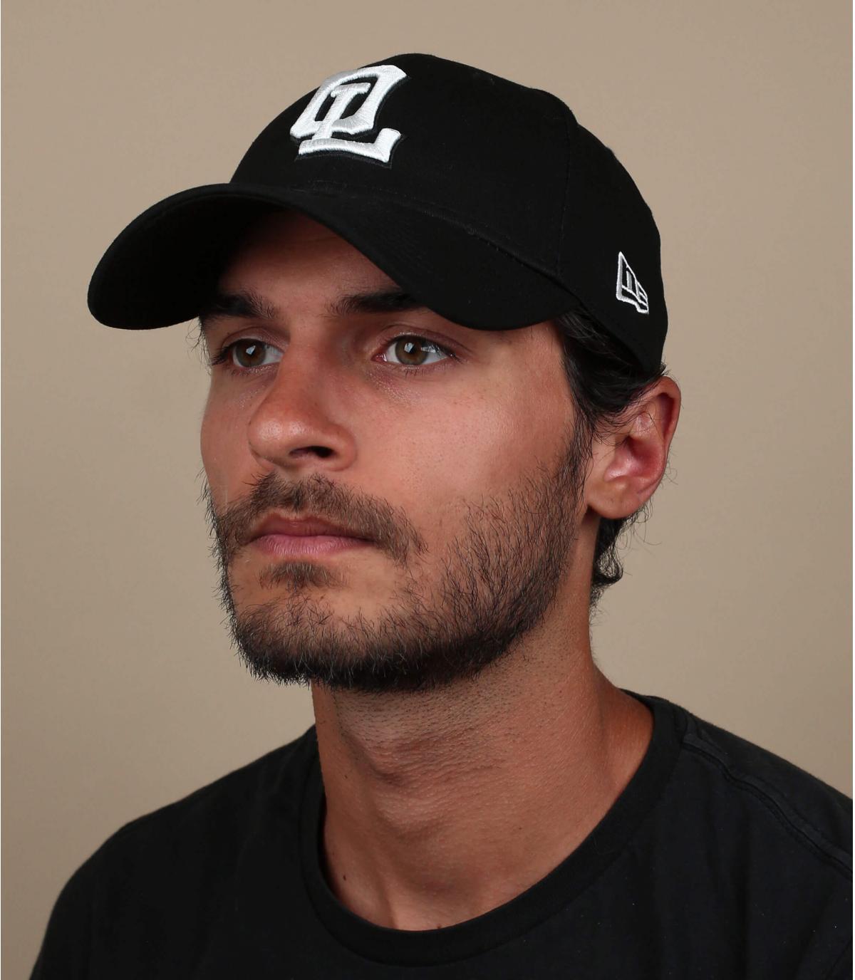 black OL cap