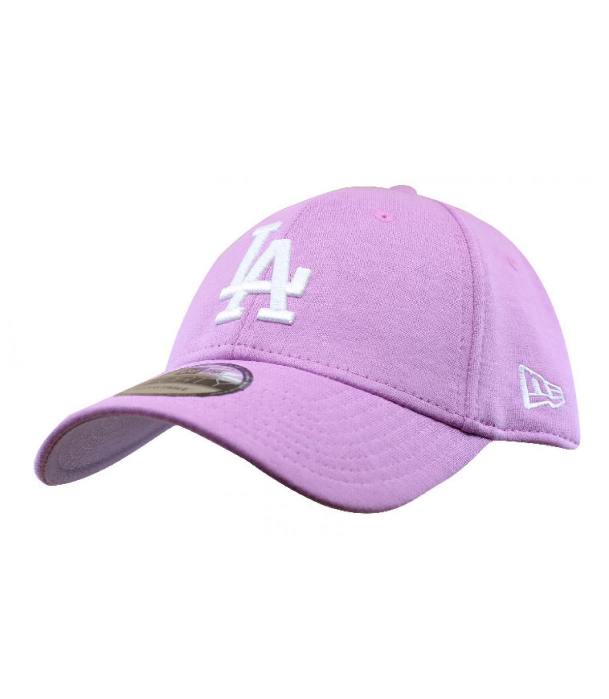 pink LA cap