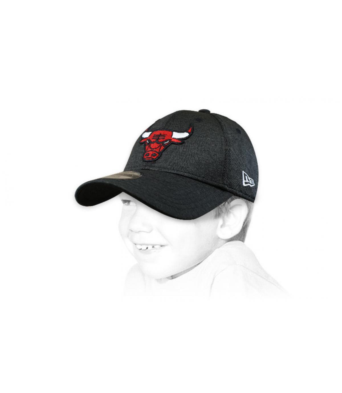 black Bulls kids cap