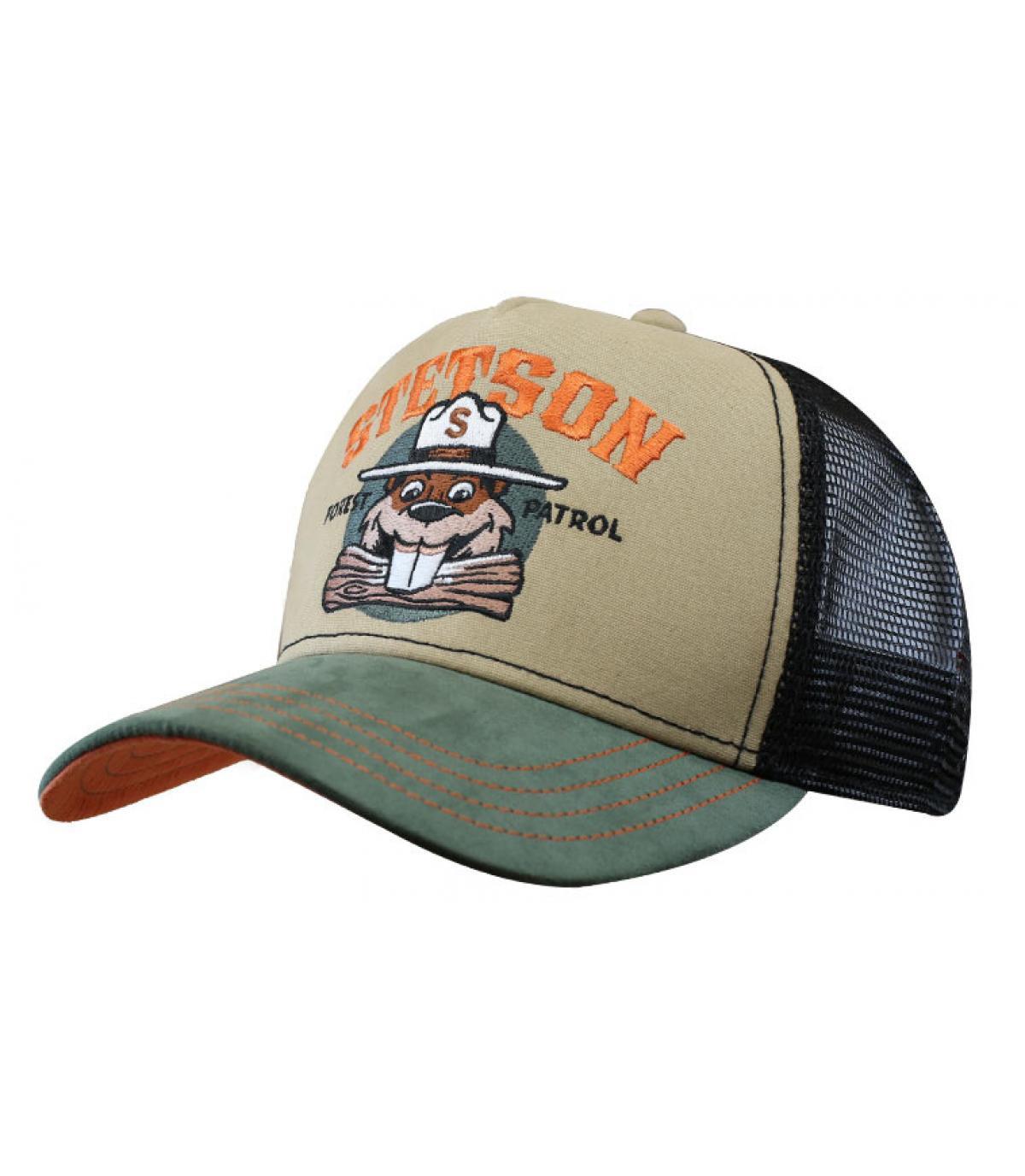 Stetson beaver trucker cap