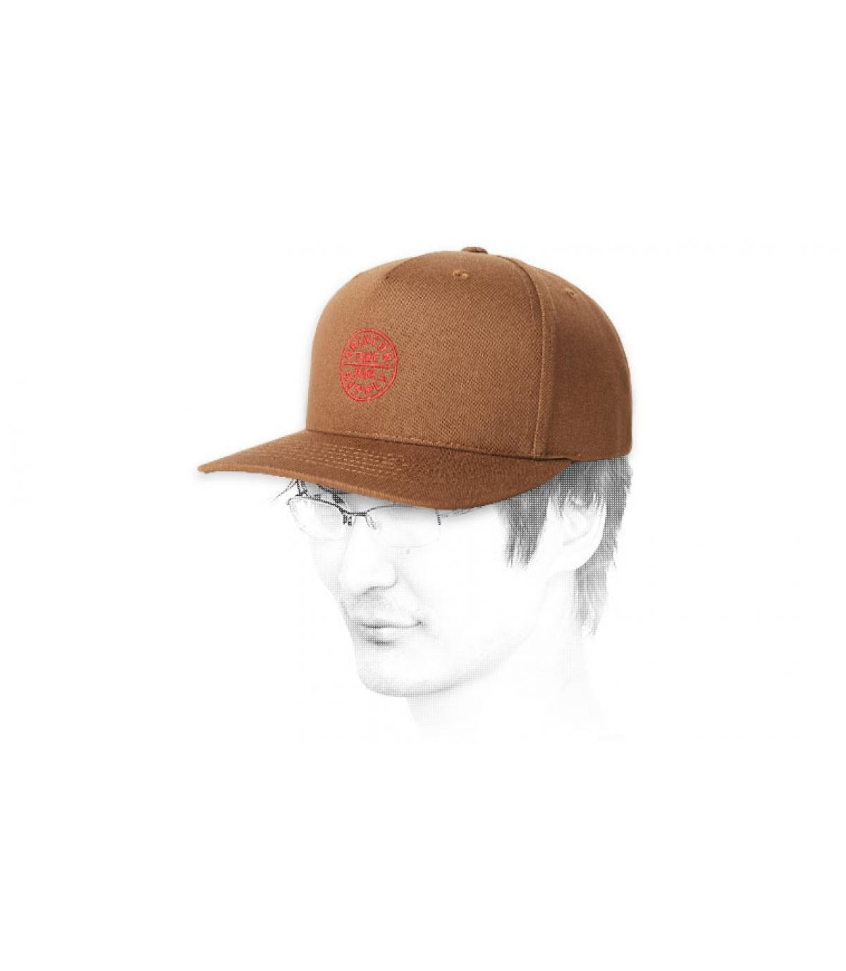 brown Brixton snapback