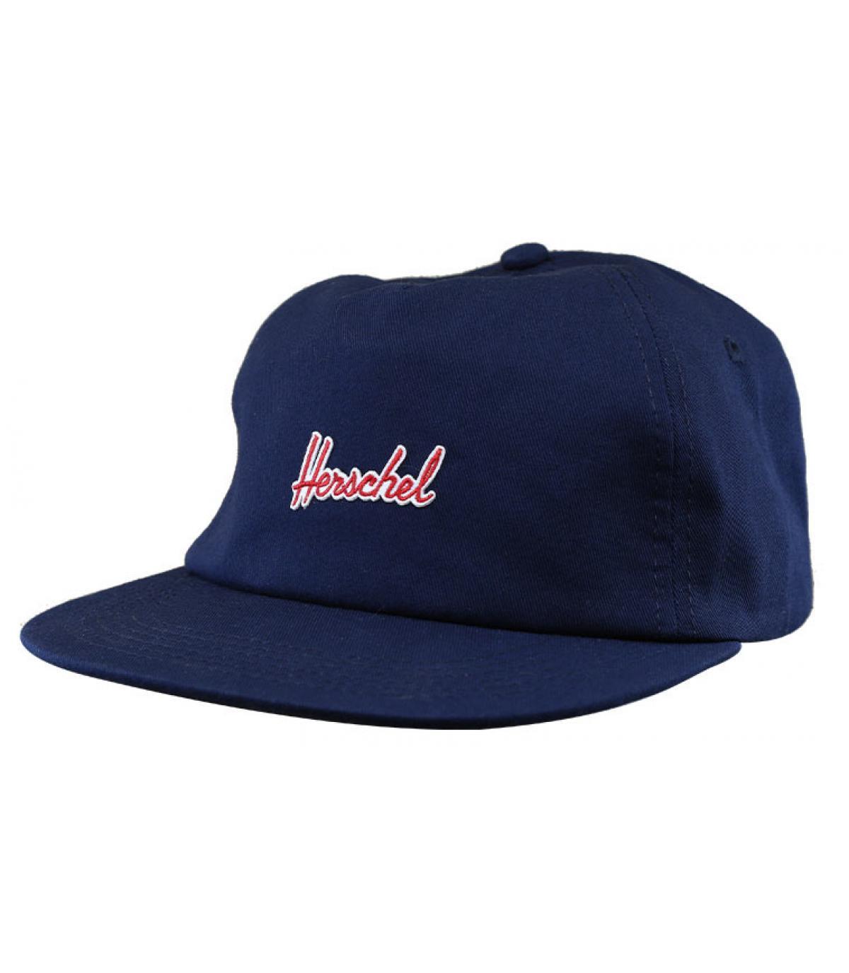navy blue Herschel cap