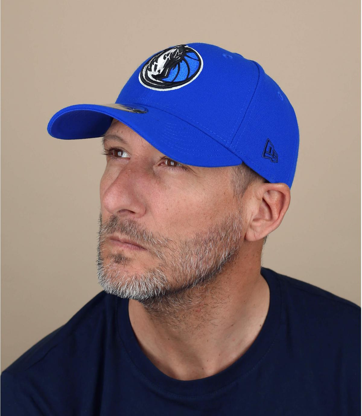 blue Yankees curve cap