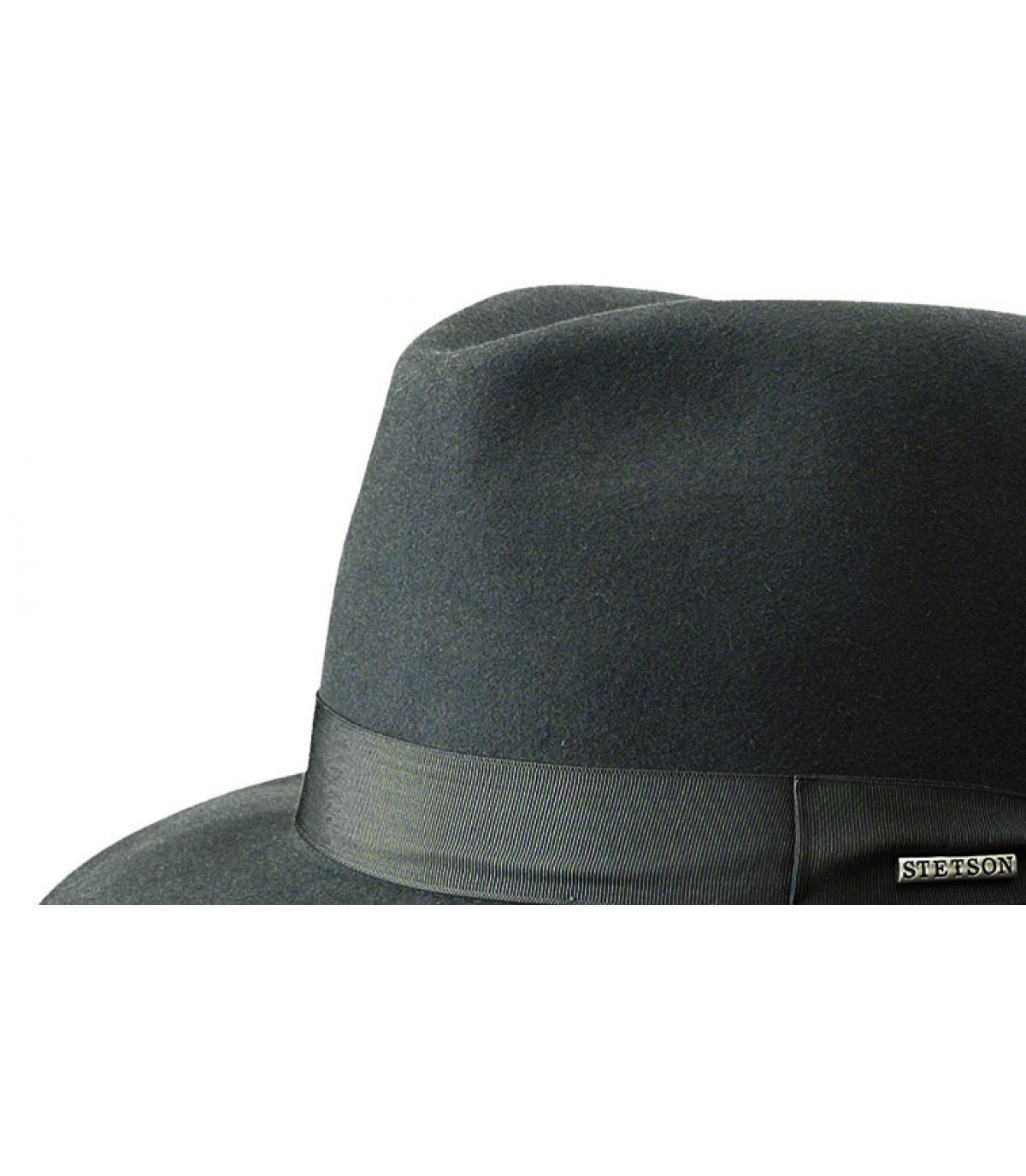 Stetson fedora hat - Penn furfelt grey by Stetson. 7812937f5c3