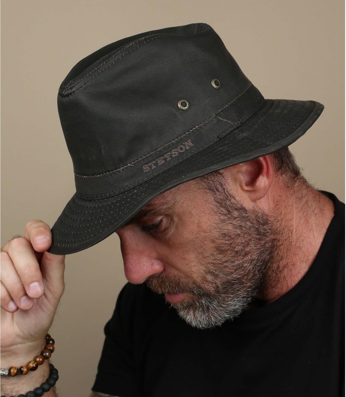 Stetson coton hat