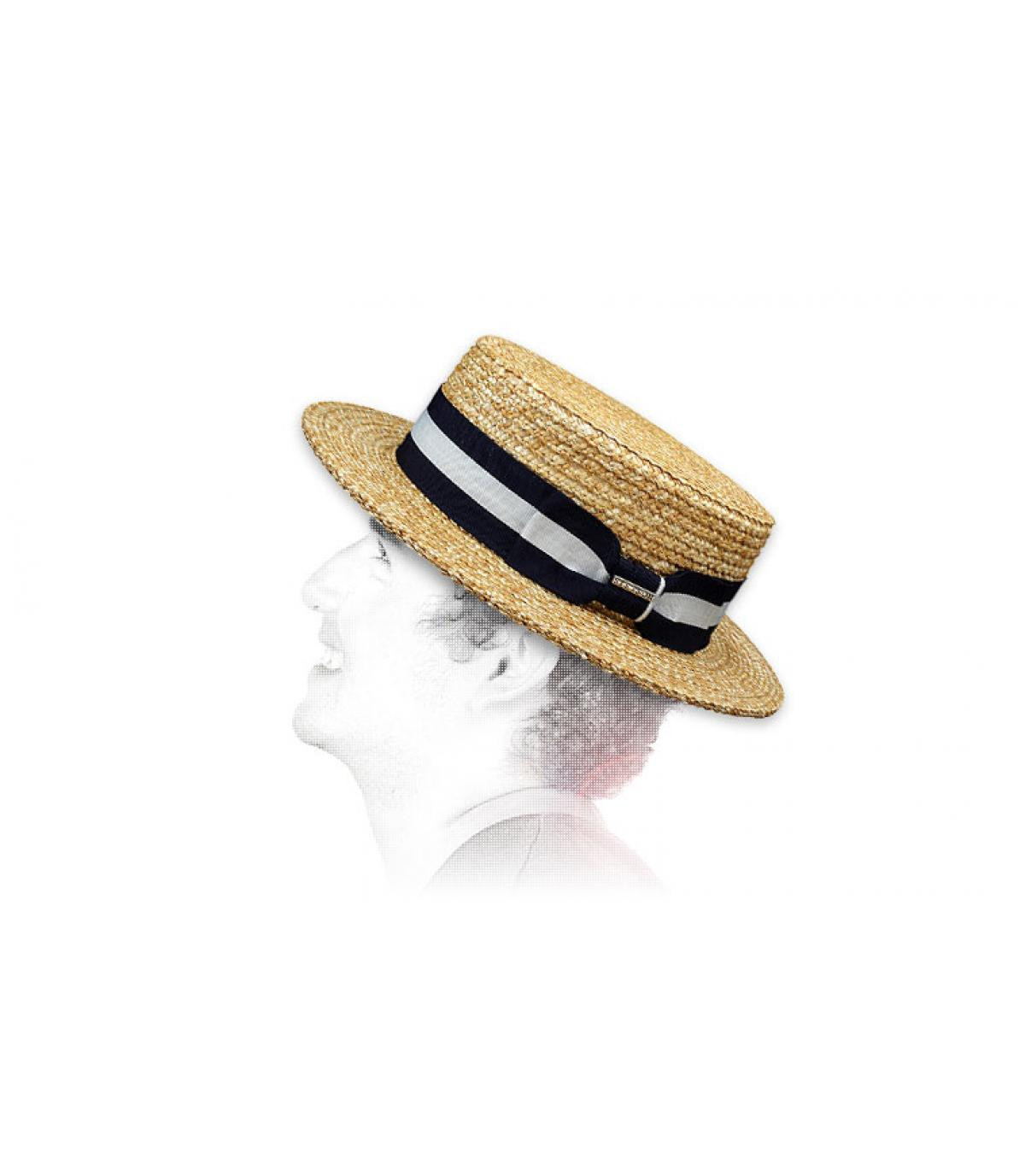 Stetson boater hat