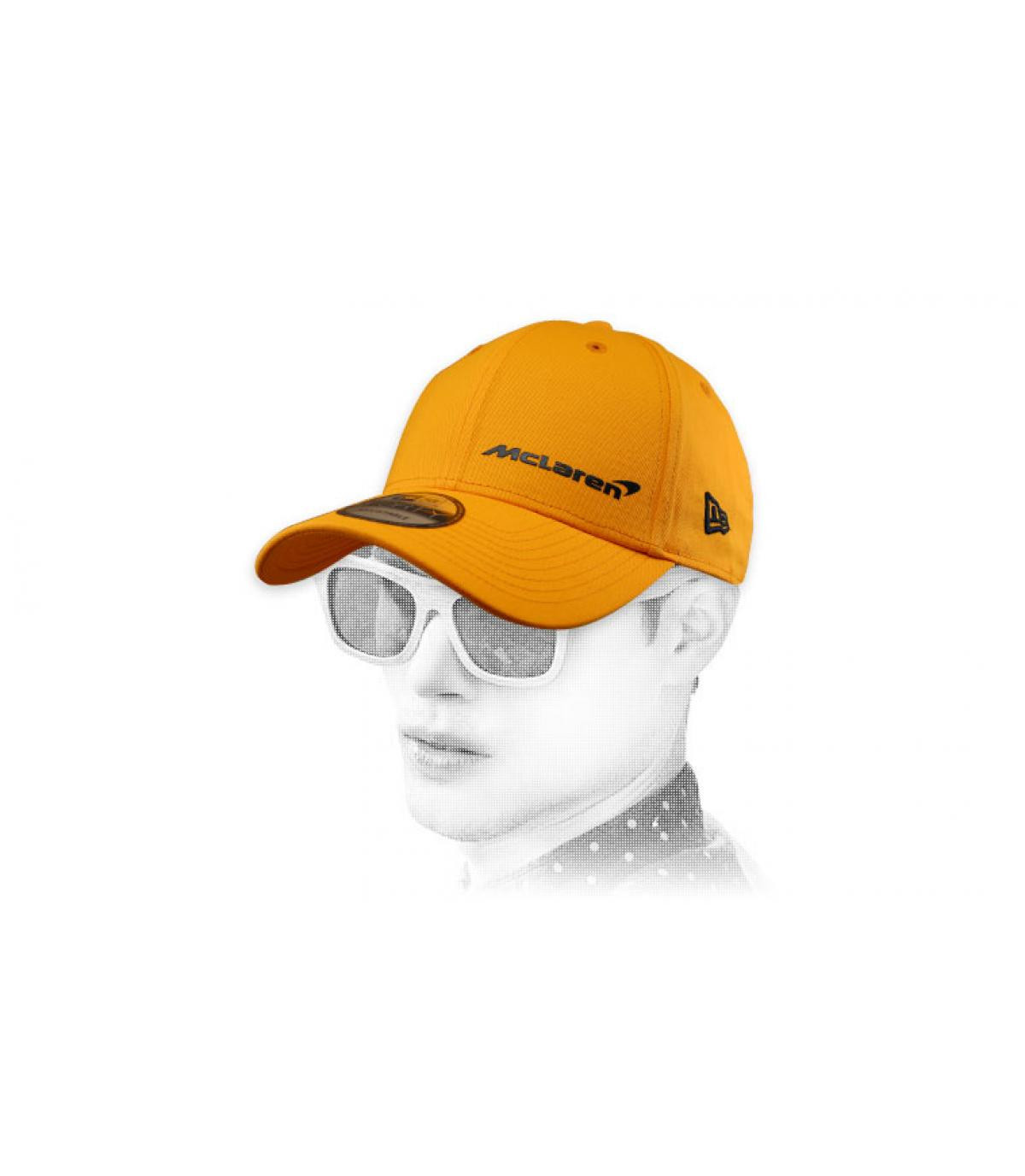 yellow McLaren cap