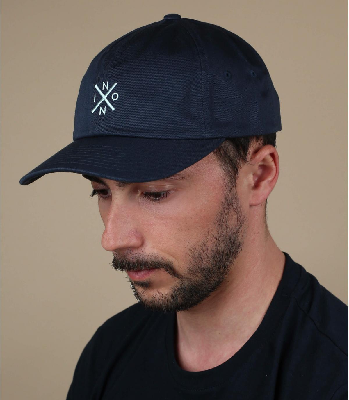 blue Nixon cap