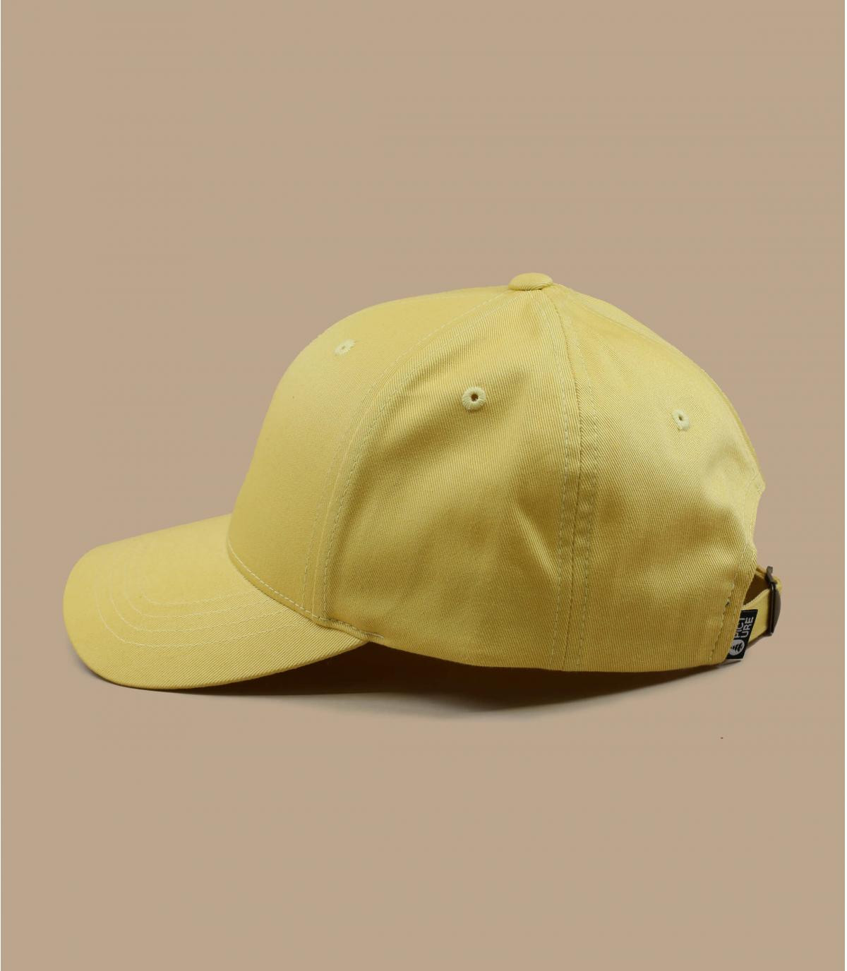 yellow Picture cap
