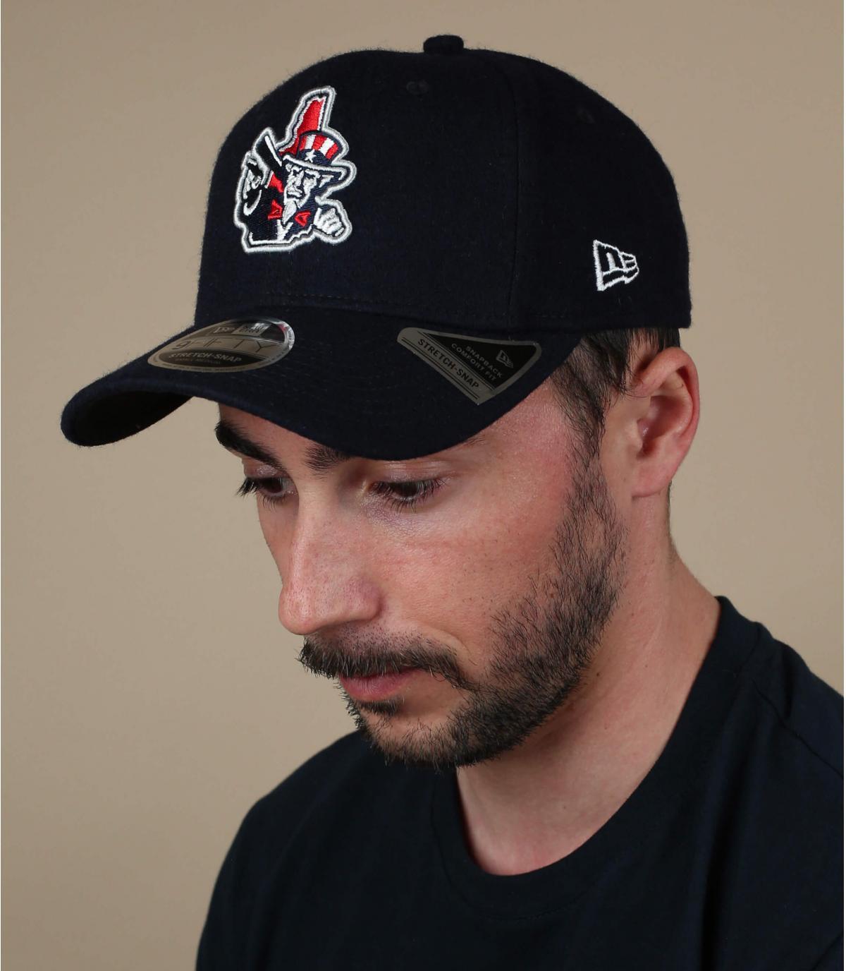 black Fishercats cap