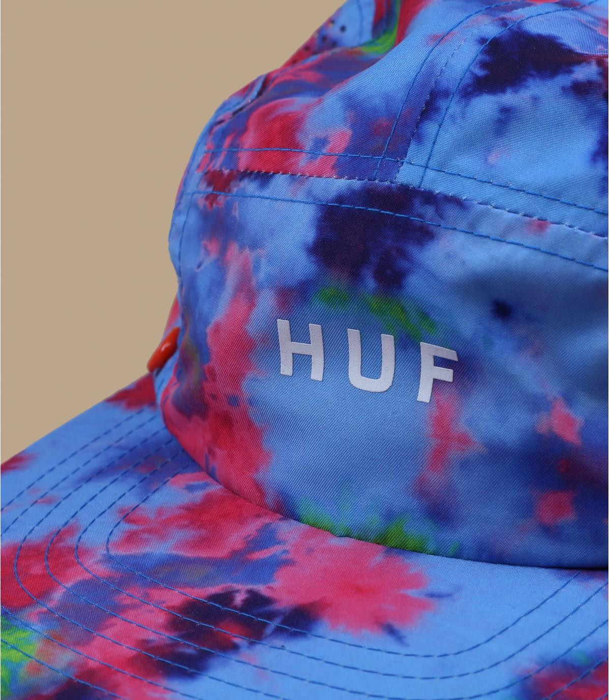 5 panel neck protector Huf blue