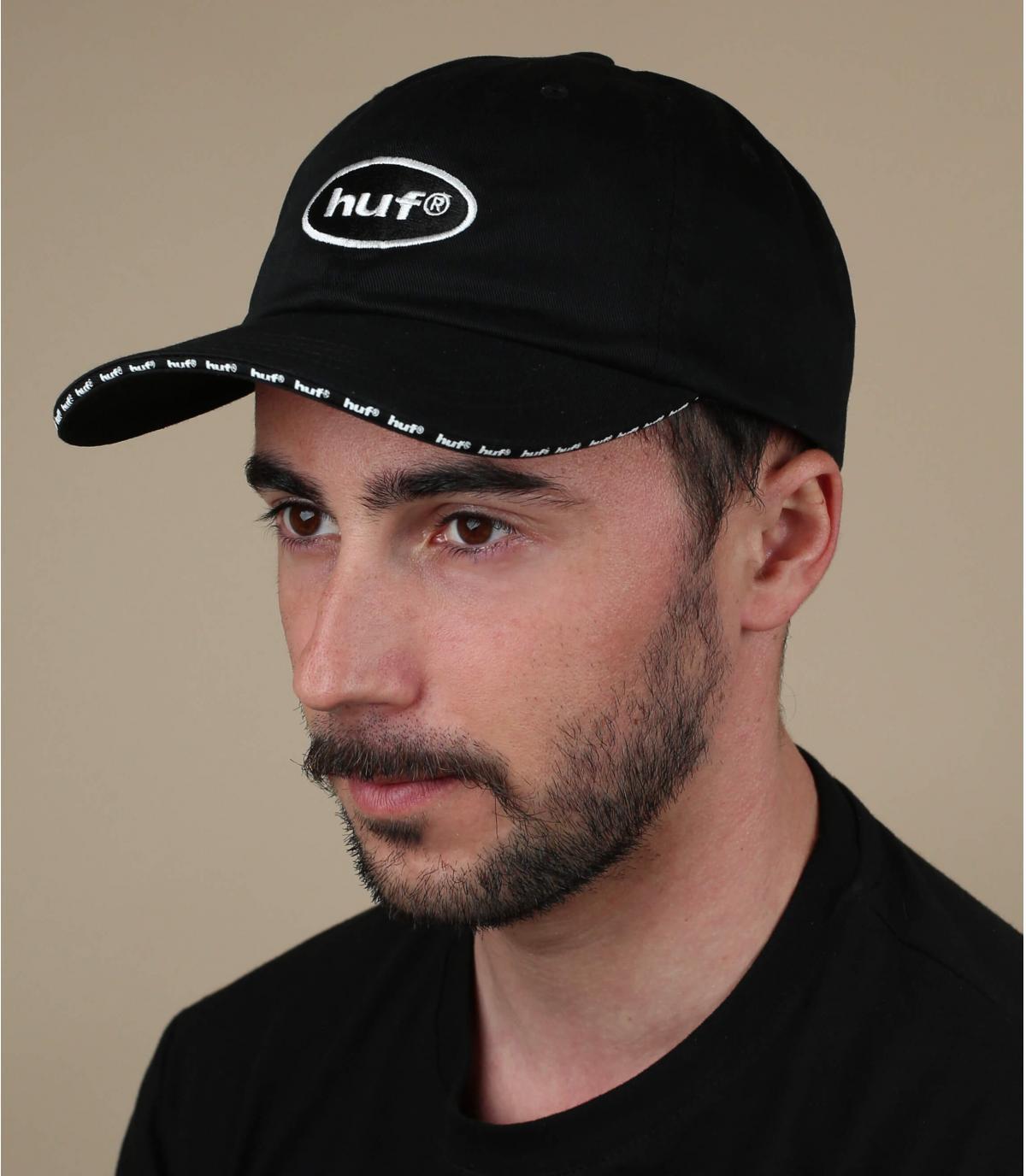 Huf black cap