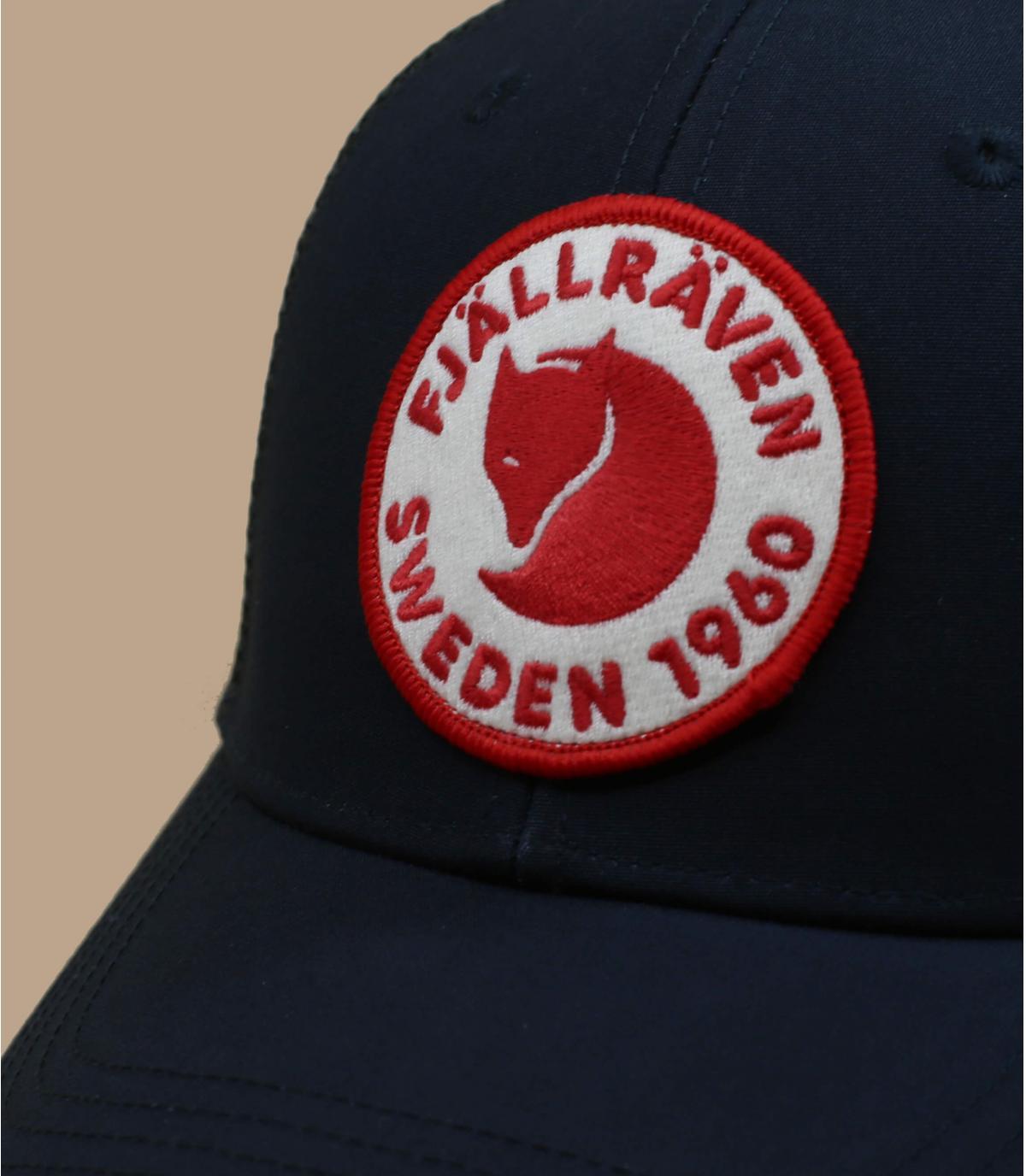navy blue FjällRäven cap