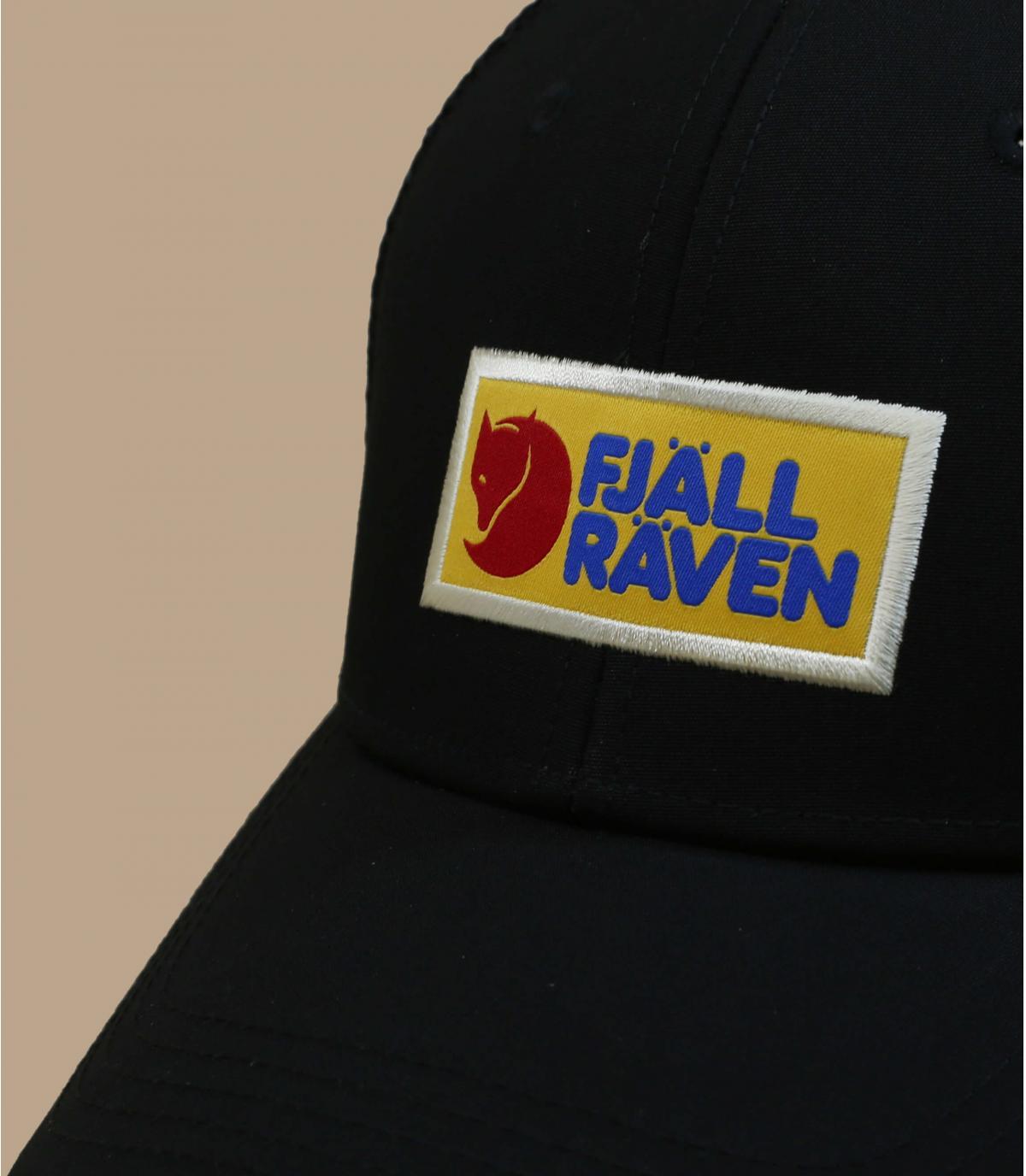 black FjällRäven trucker