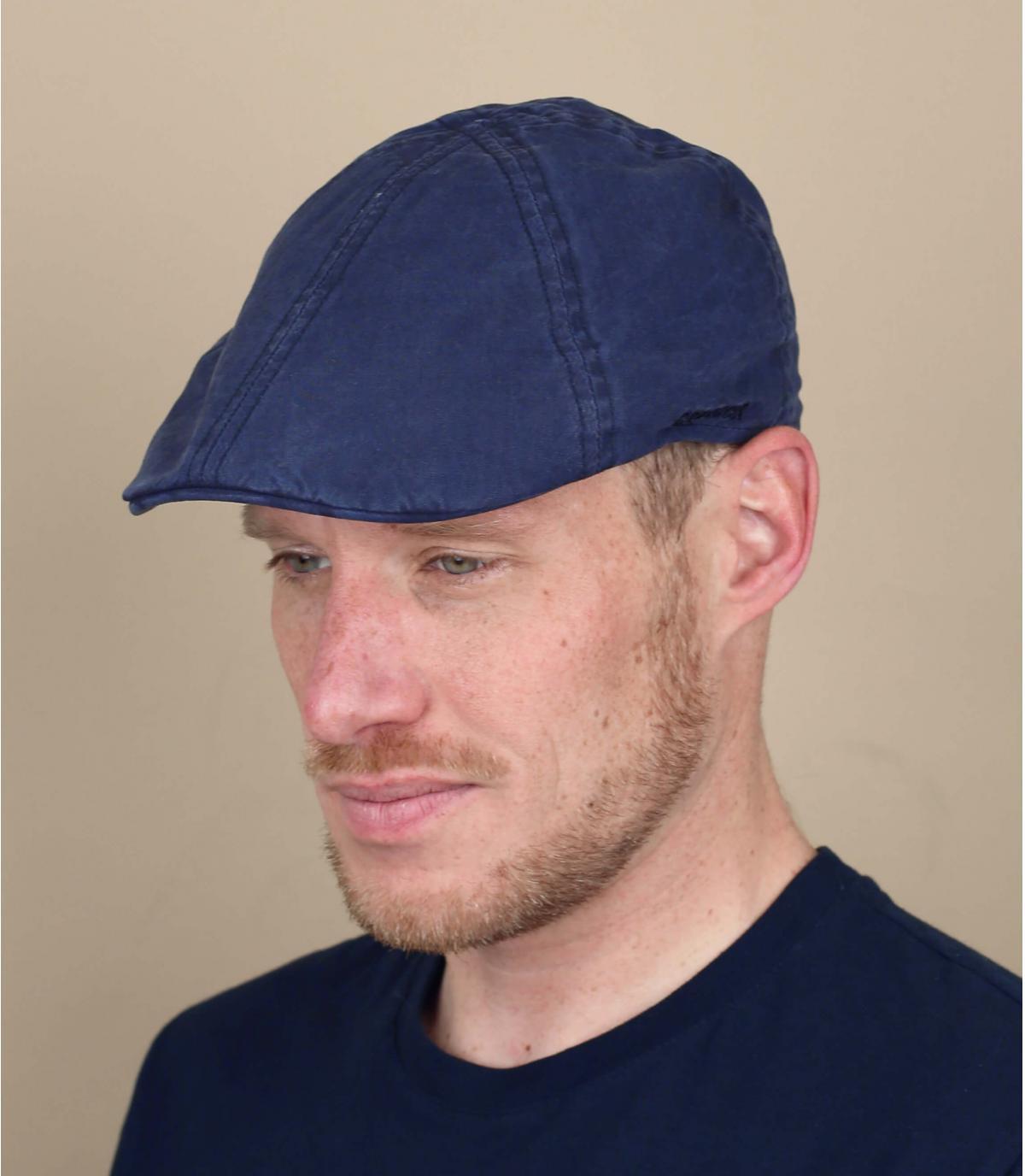 Stetson blue duckbill cap