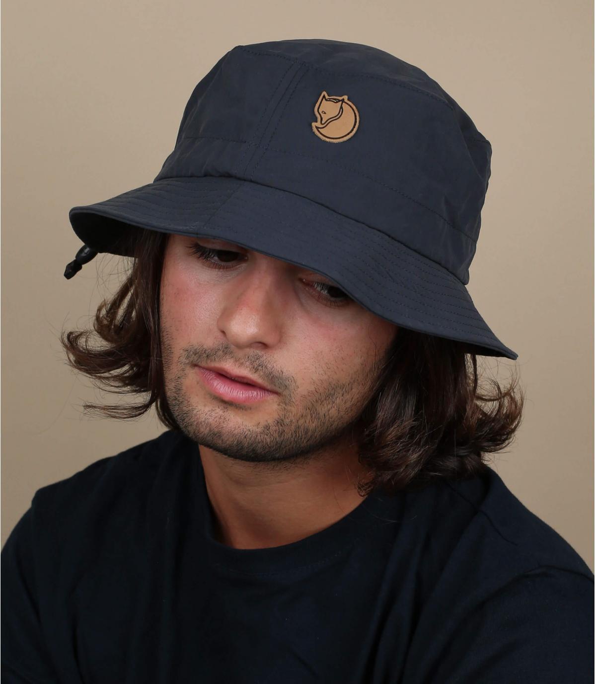 navy blue FjällRäven bucket hat