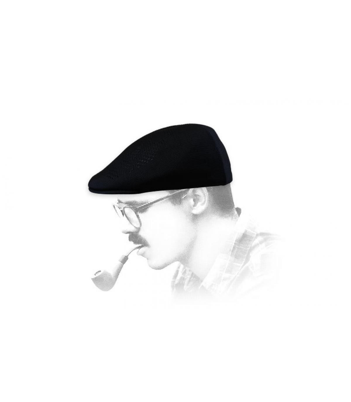 Black summer cap Kangol