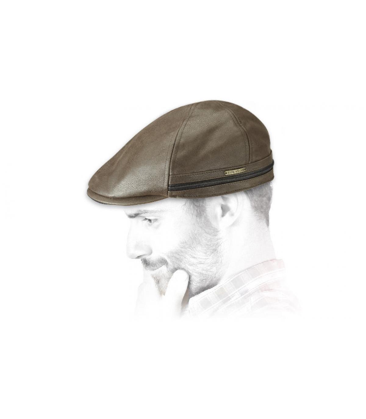 Détails Redding Earflap Cowhide brown - image 4