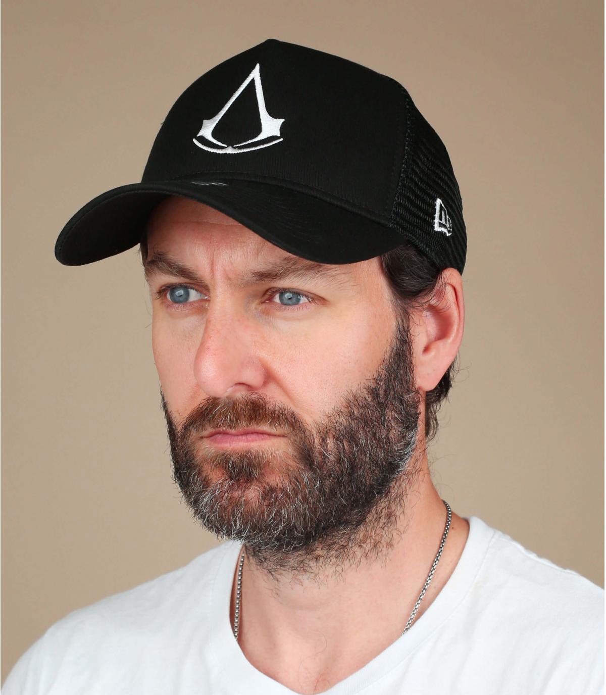Black Assassin's Creed cap