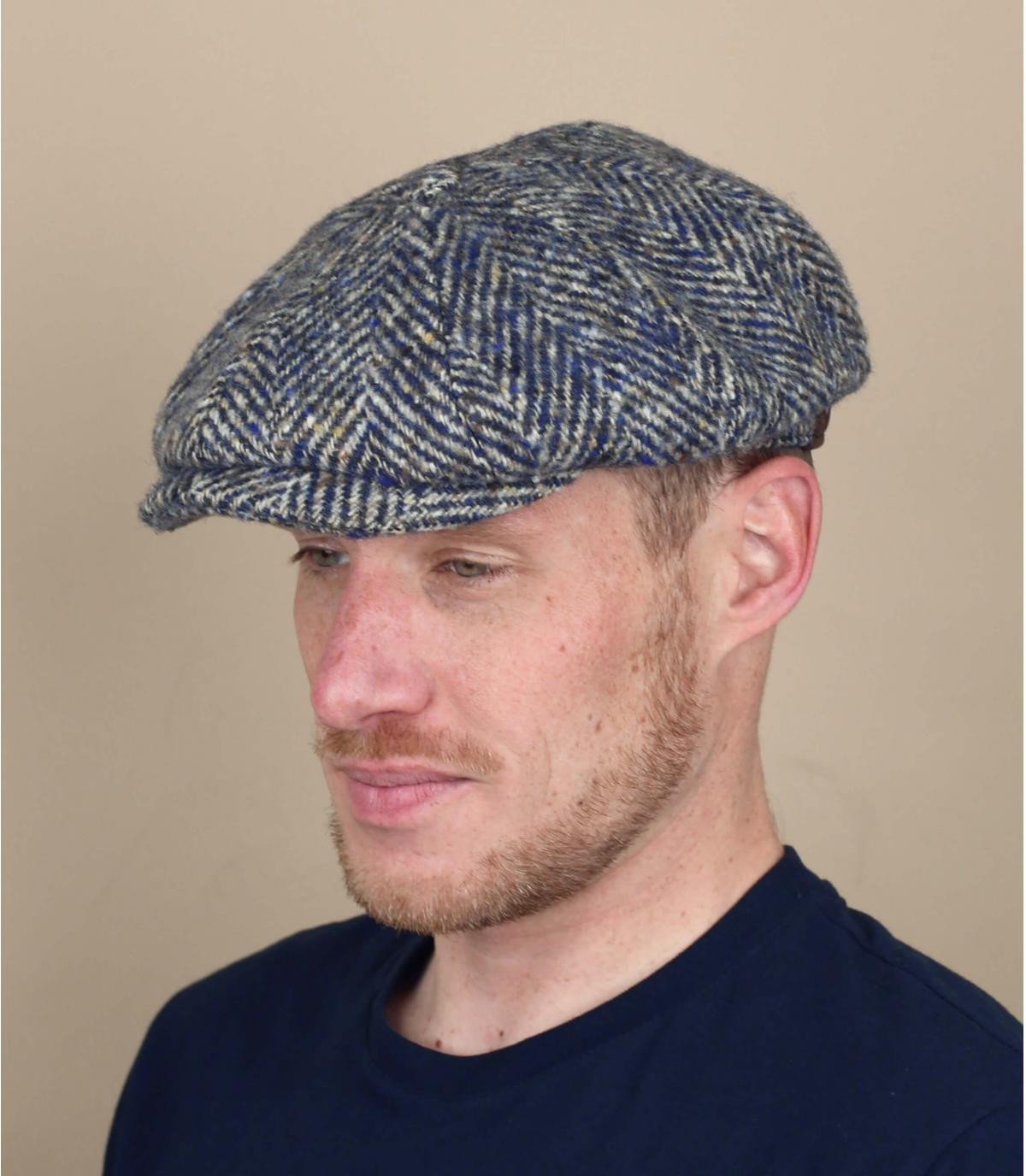 Stetson blue hatteras cap