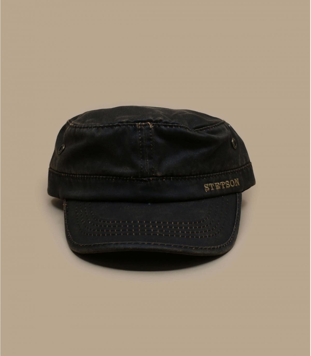Brown army cap