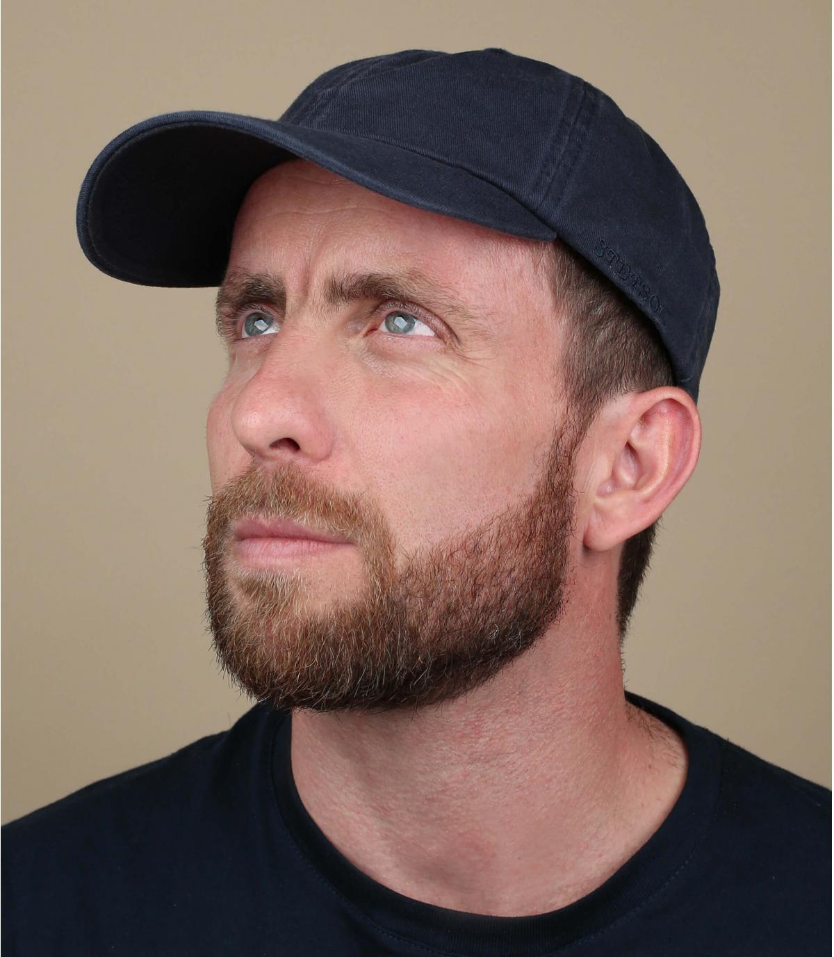 Stetson navy baseball cap
