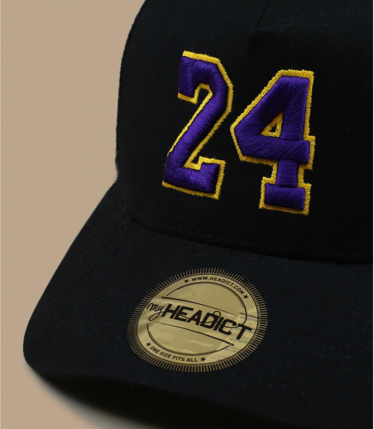 black trucker 24