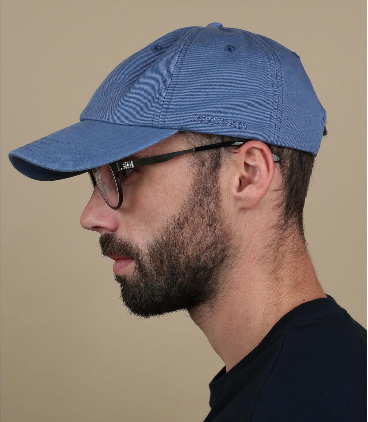 Stetson blue baseball cap