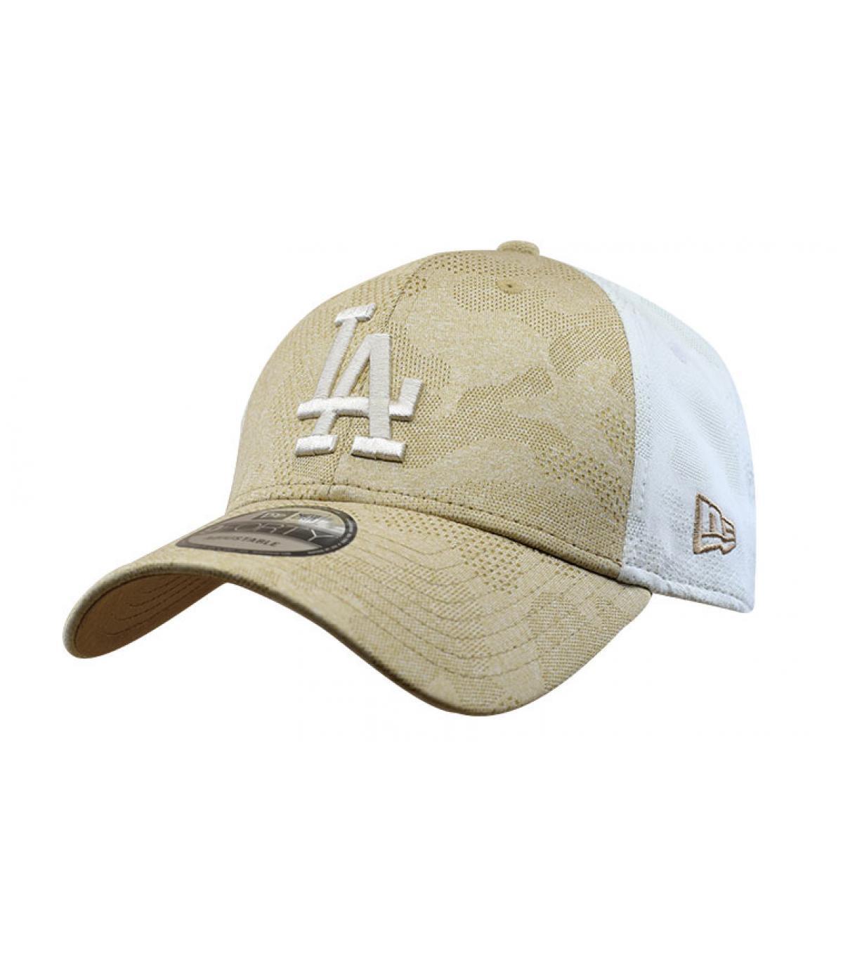 beige LA cap