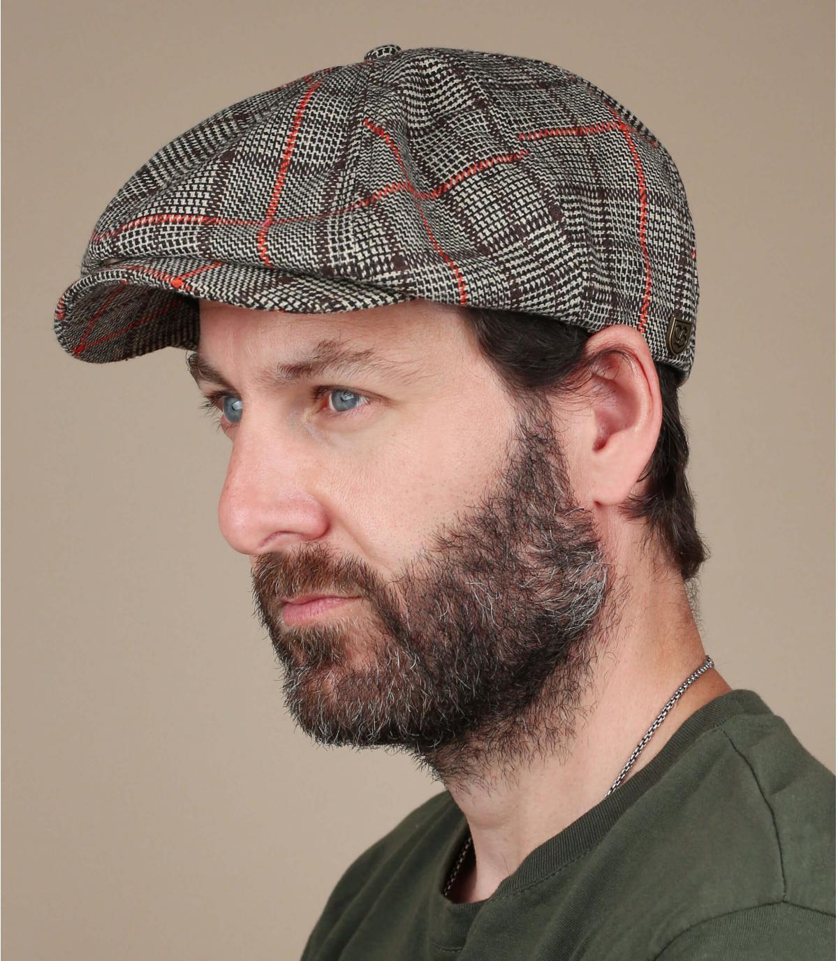 Brixton newsboy cap squares
