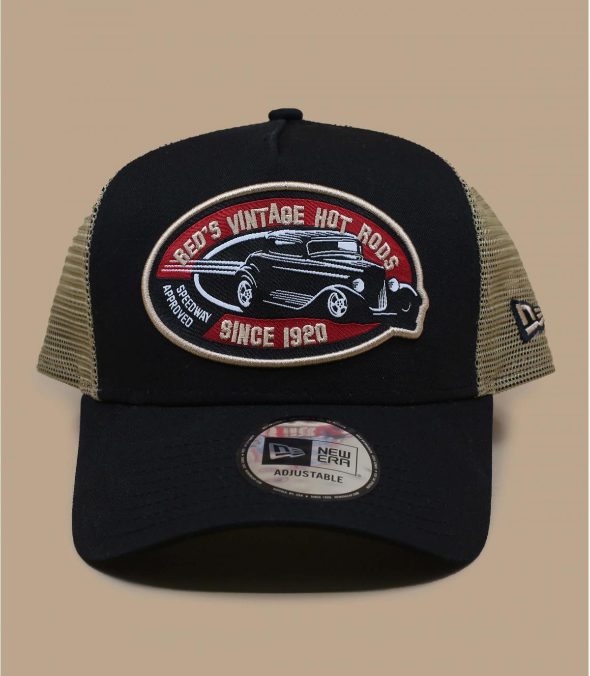 black car trucker