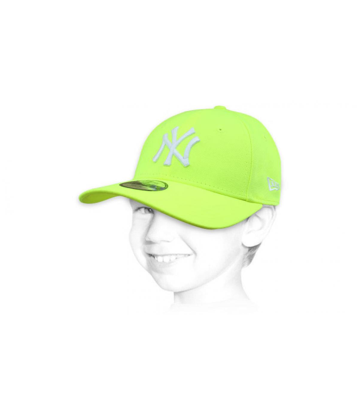 NY child cap yellow