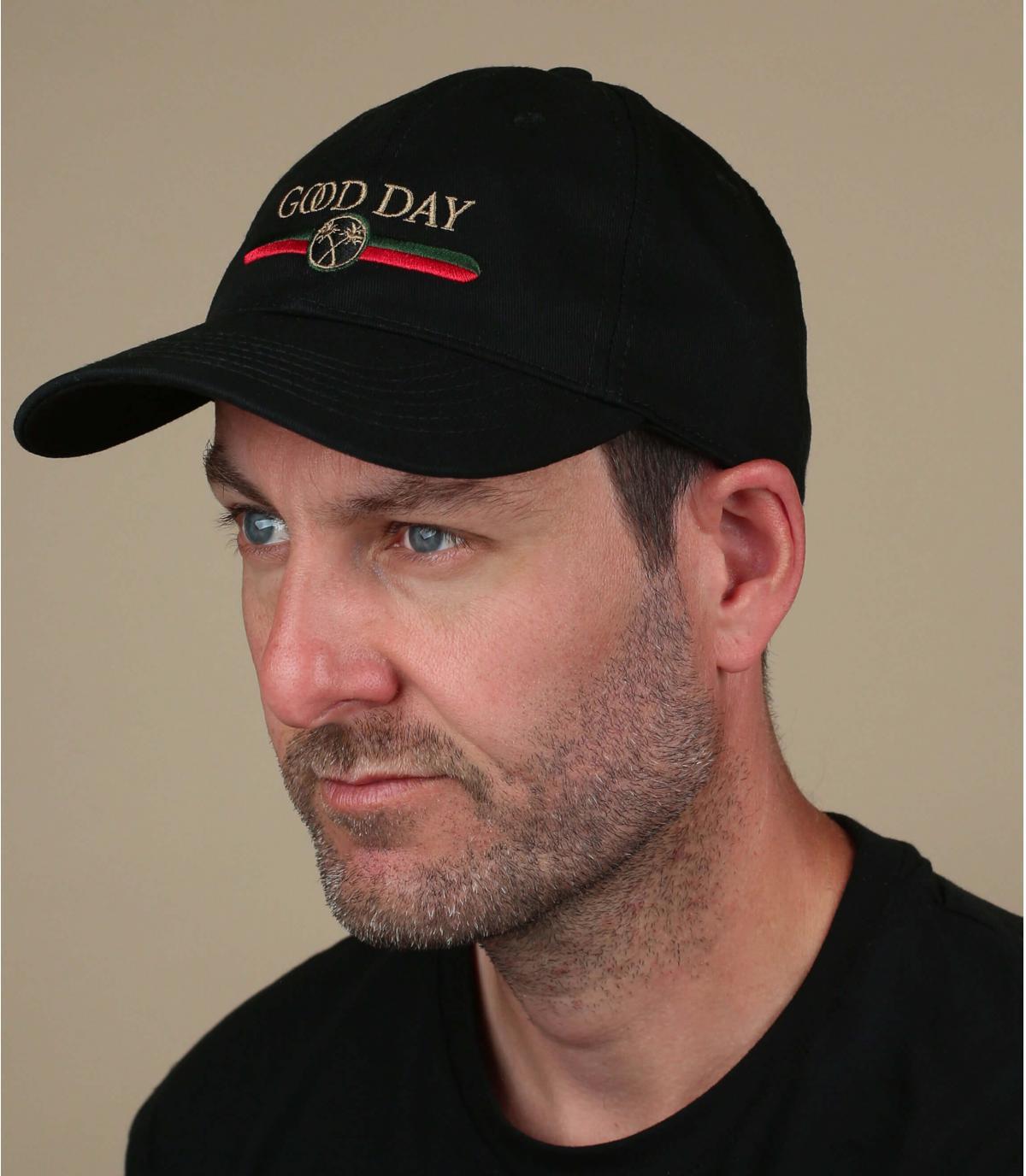 Black Good Day cap