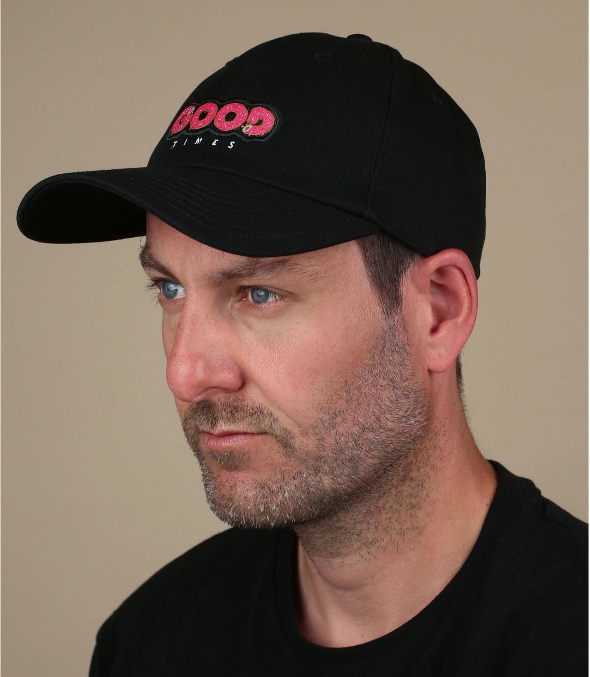 Black Good Times cap
