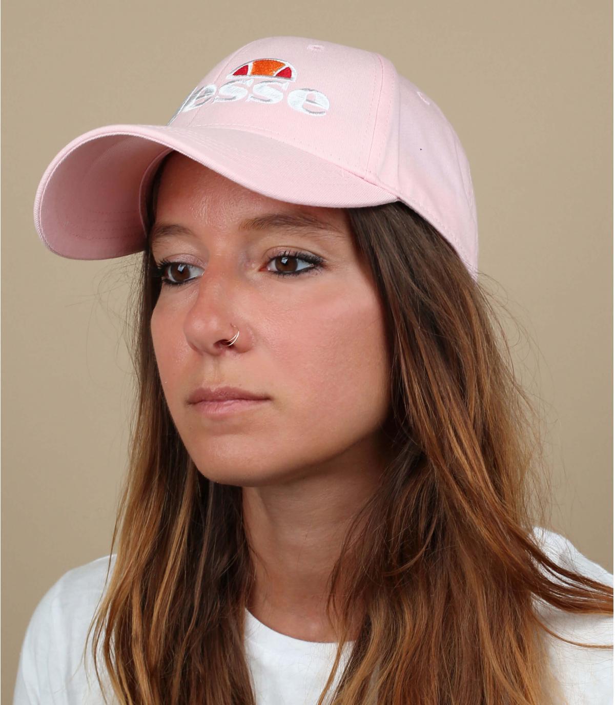 Pink Ellesse cap