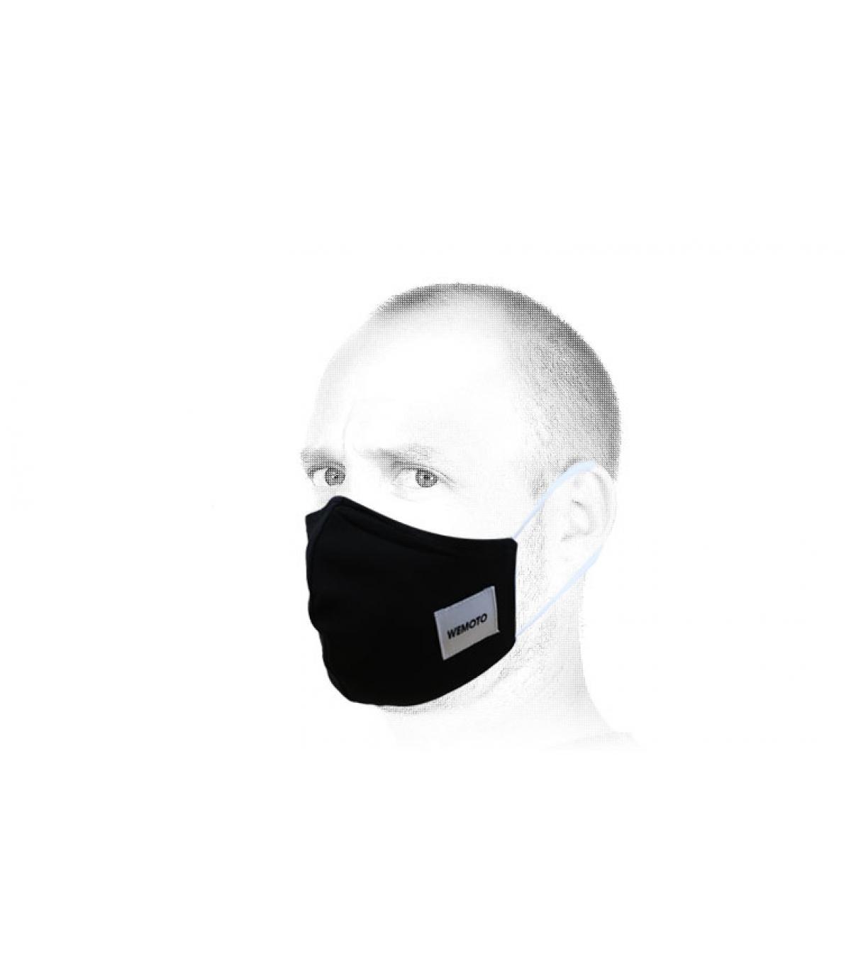 black Wemoto protective mask